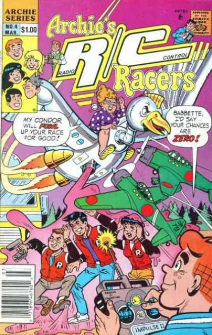 Archie's R-C Racers 4 - Toys - Dogfight - Metal - Bird - Zero Fighter