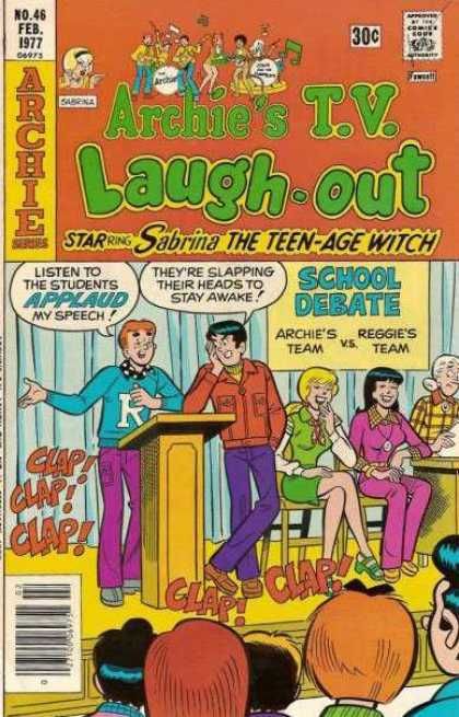Archie's TV Laugh-Out 46 - Reggie - Debate - Applause - Clap - Laughing