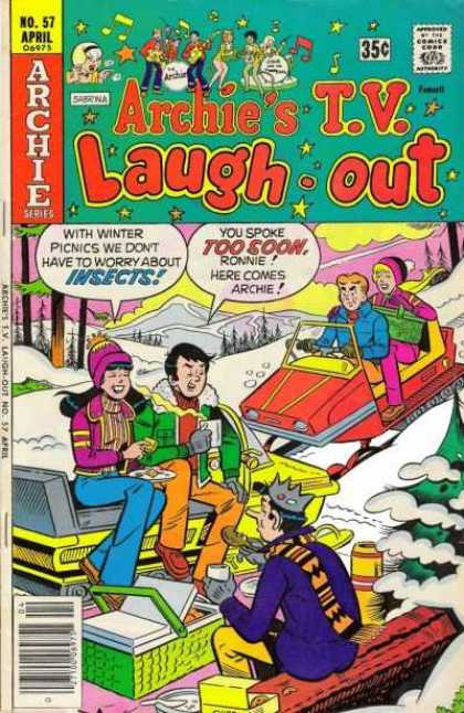 Archie's TV Laugh-Out 57 - Insects - Snow - Winter Picnic - Ronnie - Archie