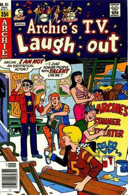 Archie's TV Laugh-Out 61 - Archies Summer Theater - Actor - Gang - Backstage - Crew