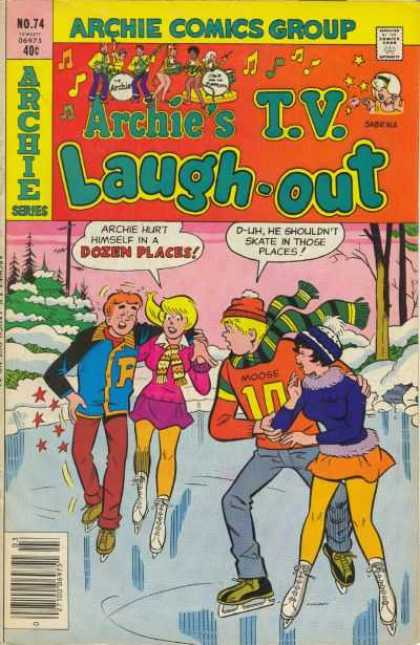 Archie's TV Laugh-Out 74 - Skating - Injury - Date - Couple - Winter