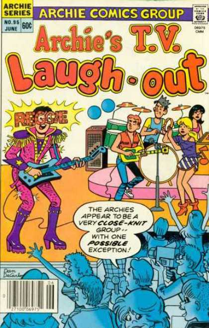 Archie's TV Laugh-Out 95 - Archie Series - Reggie - Teens - Band - Musical Group