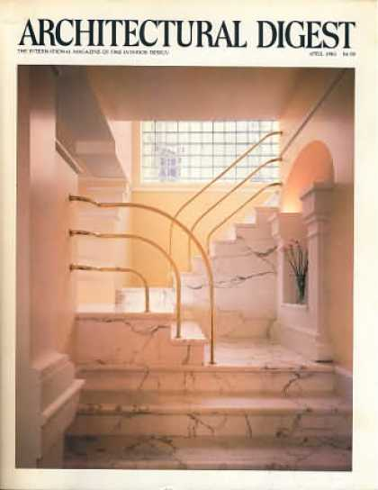 Architectural Digest - April 1983