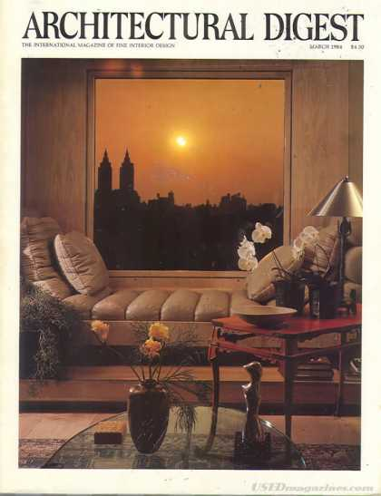 Architectural Digest - March 1984
