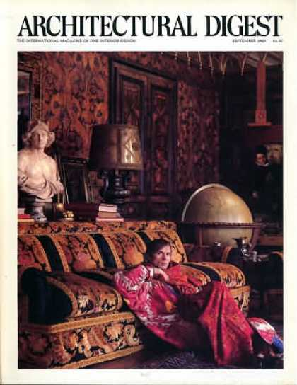 Architectural Digest - September 1985