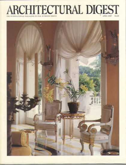 Architectural Digest - April 1987