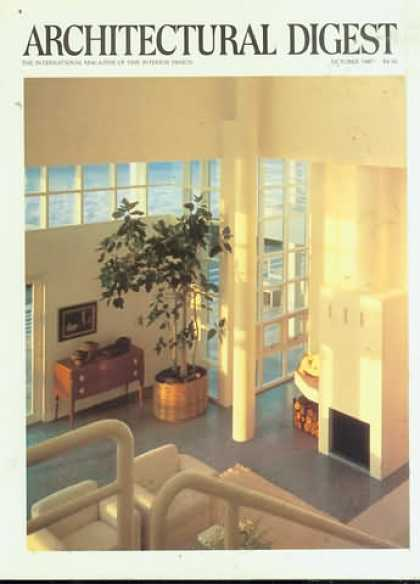 Architectural Digest - October 1987