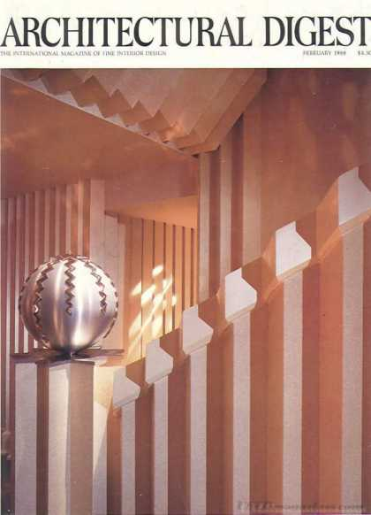 Architectural Digest - February 1988