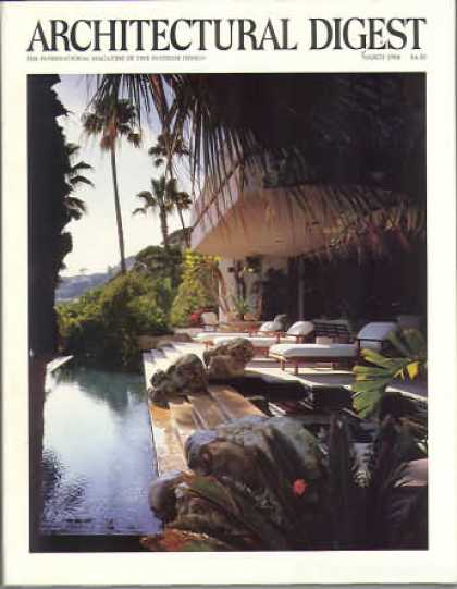 Architectural Digest - March 1988