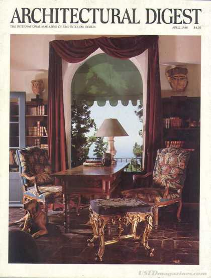 Architectural Digest - April 1988