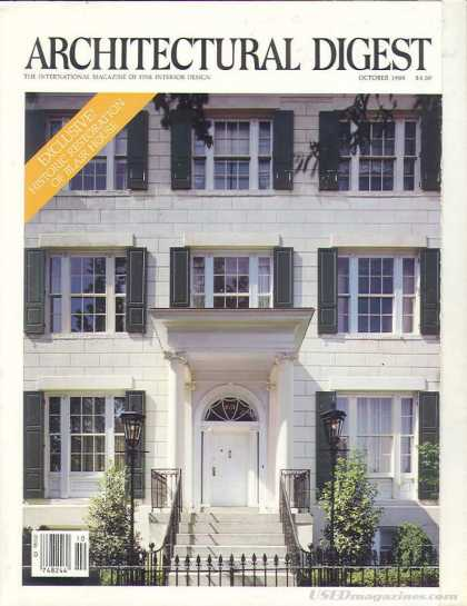 Architectural Digest - October 1988