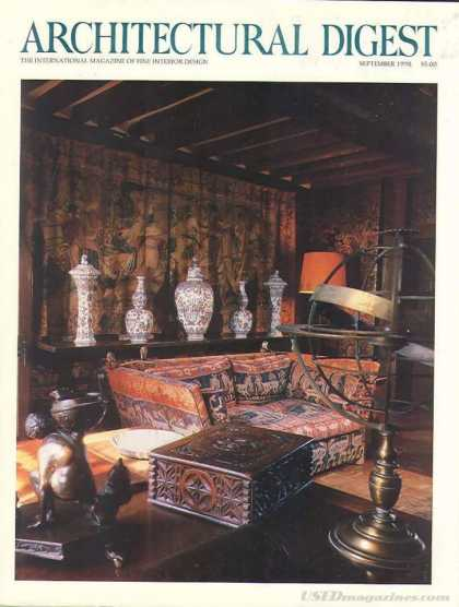 Architectural Digest - September 1990