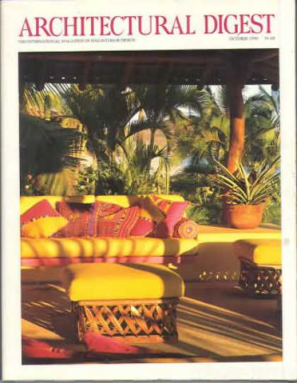 Architectural Digest - October 1990
