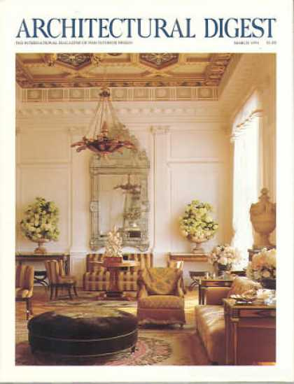 Architectural Digest - March 1991
