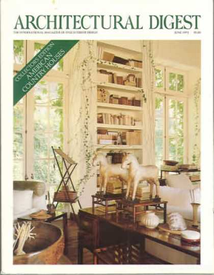 Architectural Digest - June 1991