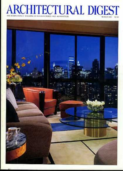 Architectural Digest - March 1996