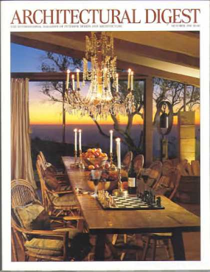 Architectural Digest - October 1996