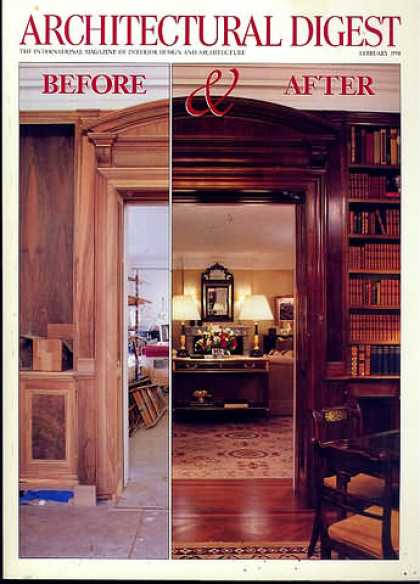 Architectural Digest - February 1998