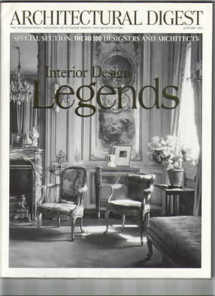 Architectural Digest - January 2000