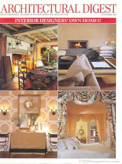 Architectural Digest - September 2000
