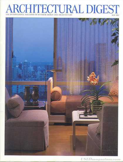 Architectural Digest - May 2001