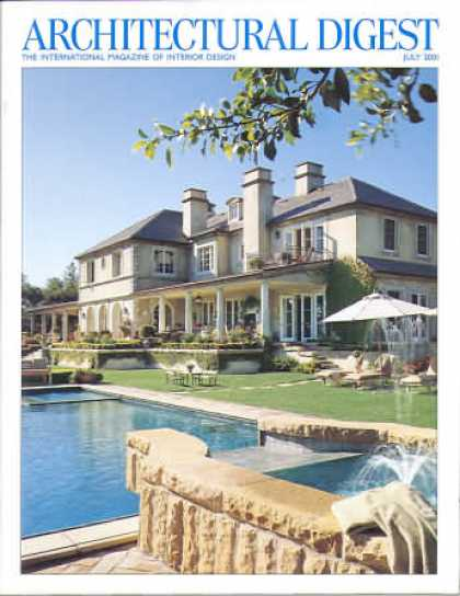 Architectural Digest - July 2001
