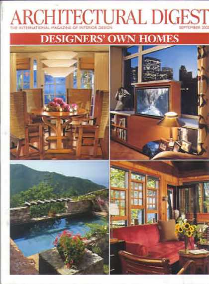 Architectural Digest - September 2002