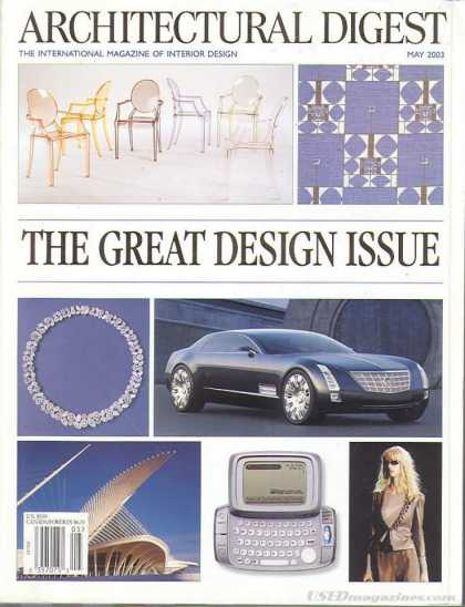 Architectural Digest - May 2003