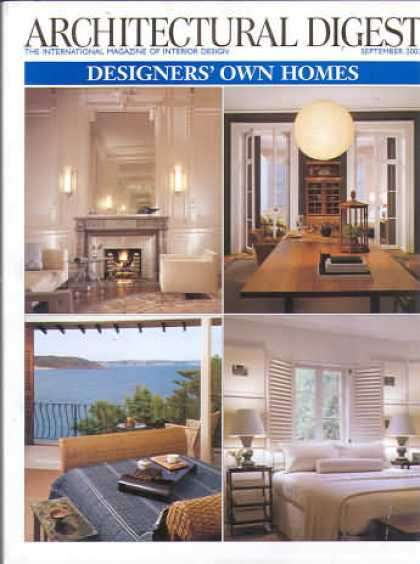 Architectural Digest - September 2003
