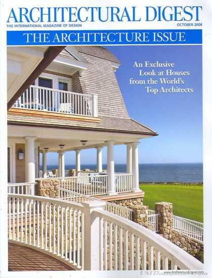 Architectural Digest - October 2008