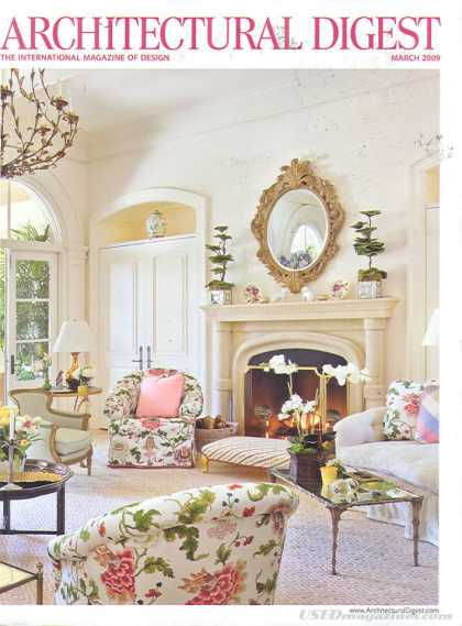 Architectural Digest - March 2009