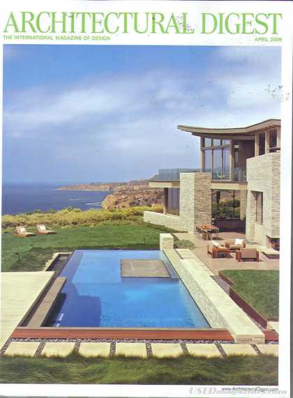 Architectural Digest - April 2009