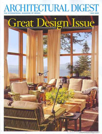 Architectural Digest - May 2009
