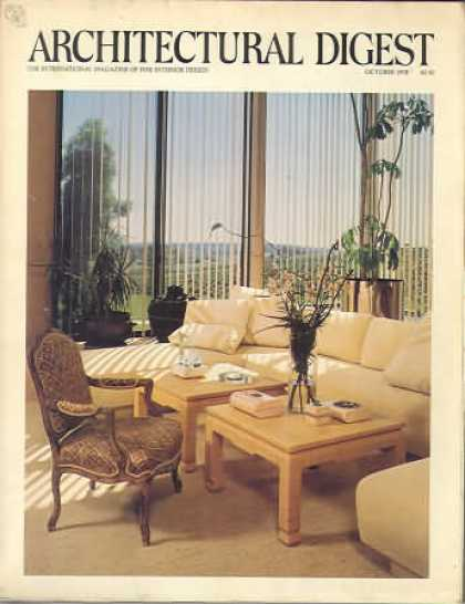 Architectural Digest - October 1978