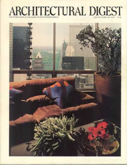 Architectural Digest - January 1979