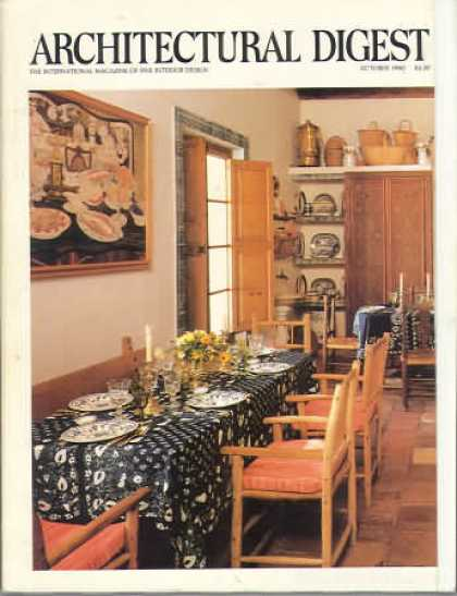 Architectural Digest - October 1980