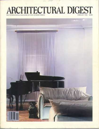 Architectural Digest - February 1981