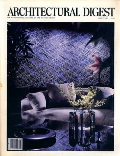 Architectural Digest - March 1981