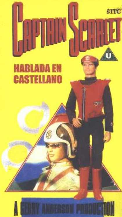 Argentinian Magazines - Captain Scarlet