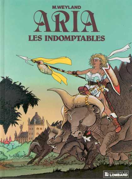Aria (French) 4 - M Weyland - Les Indomptables - Lombard - Bull - Spear