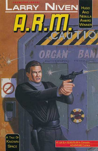 A.R.M. 1 - Larry Niven - Gun - A Tale Of Known Space - Adventure Comics - Award Winner