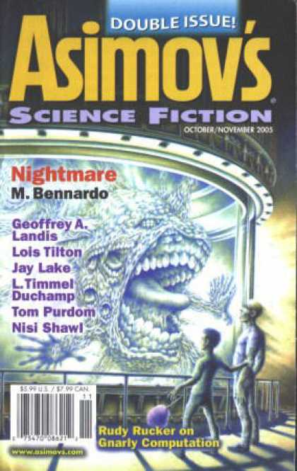 Asimov's Science Fiction - 11/2005