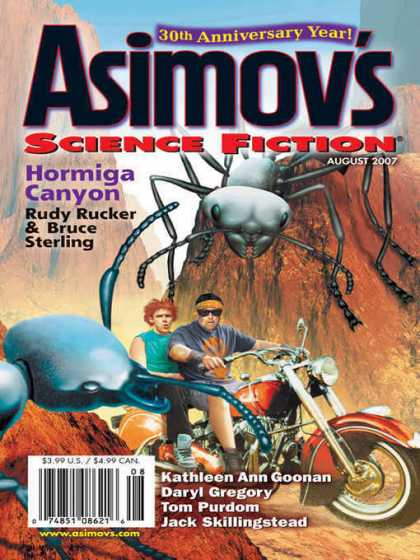 Asimov's Science Fiction - 8/2007