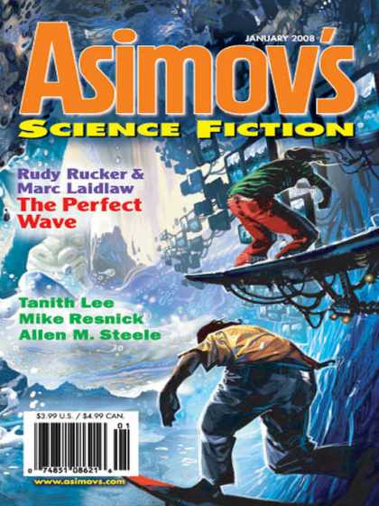 Asimov's Science Fiction - 1/2008