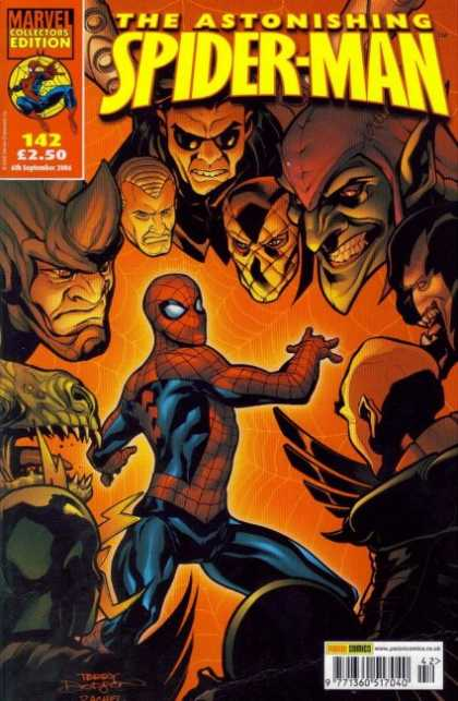 Astonishing Spider-Man 142