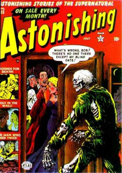 Astonishing 15 - Stories - Supernatural - Every Month - Skeleton - Blind Date