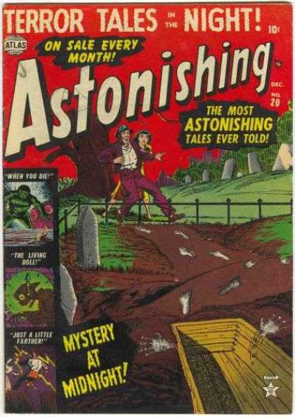 Astonishing 20 - Classic Comics - Astoninshing Comics