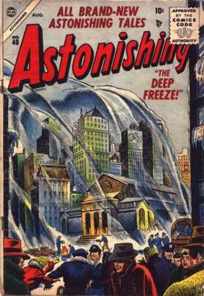 Astonishing 40 - The Deep Freeze - Tallest Buildings - Fire - Hats - Jockets
