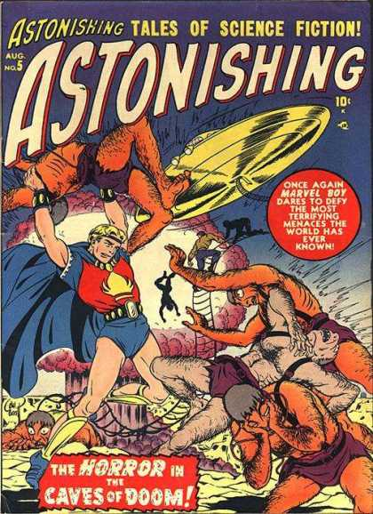 Astonishing 5 - Bill Everett