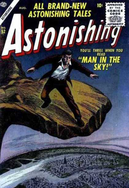Astonishing 52 - Astonishing - Men - Hill - Edge - Open Space